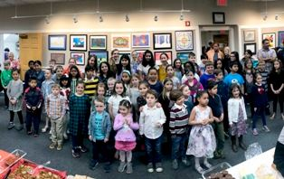 K-6th Grade Art Exhibit