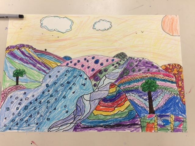 Art - Mrs. Garney - Orange Public Schools - Colorful Hills